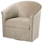 Comfort Pointe - Comfort Pointe Elizabeth Sand Swivel Chair - Comfort Pointe Elizabeth Sand Swivel Chair