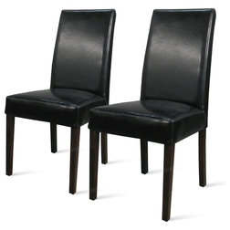 Transitional Dining Chairs by New Pacific Direct Inc.