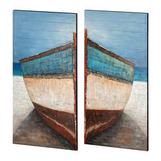 Mercana Dory Oil Painting, Set of 2
