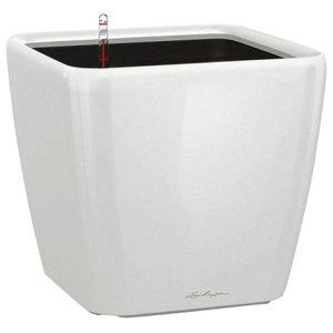 Quadro LS Self Watering Planter, 26x28x28 CM, White
