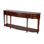 Peyton Console Table, Brown