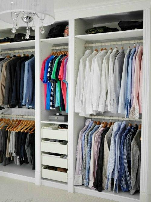 Diy ikea hack pax wardrobe dressing room for Ikea ship to new zealand