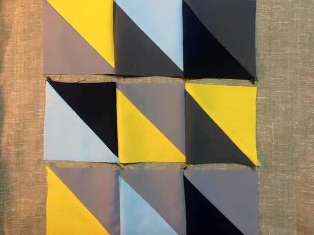 Comment faire un coussin en patchwork designs