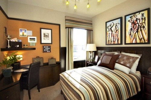 Golf bedroom ideas pictures remodel and decor for Bedroom ideas student
