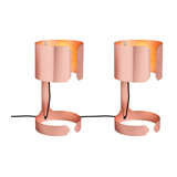 Set of 2 Table Lamp Waltz Copper