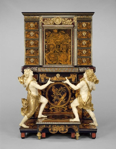Cabinet on Stand, Louis XIV, Attributed to André-Charles Boulle