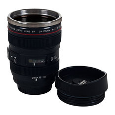 Whetstone - Camera Lens Coffee Mug with Lid, 1 Mug - Mugs
