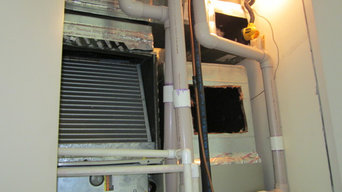 Residential Air Duct Cleaning Fan and Coil