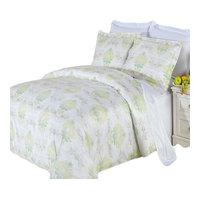 Lana 3-Piece 100% Cotton Printed Duvet Cover Set, Full/Queen