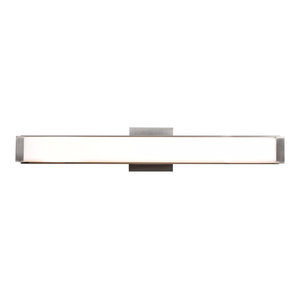 Fjord Dimmable LED Vanity, Chrome With Opal Diffuser