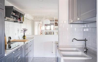 Visita privada: Un piso reformado a la medida de una joven pareja