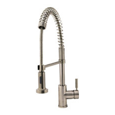 MR Direct Sinks And Faucets   766 Spring Spout Kitchen Faucet, Brushed  Nickel   Kitchen