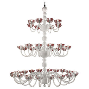 Raffaello 3-Tier Murano Glass Chandelier