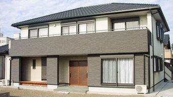 外断熱工法の二世帯住宅