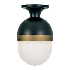 Brian Patrick Flynn for Crystorama Capsule Outdoor 1-Light Ceiling Mount