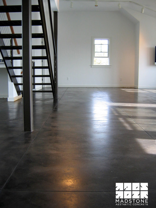 black stained concrete floors. Decorative concrete floors  epoxy polished stained flooring