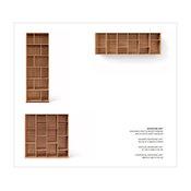 Bookcase - Novecento Collection