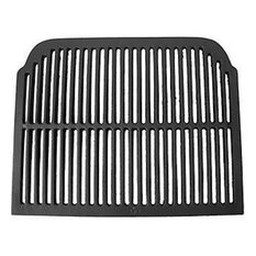 Cast Iron Barbecue Grill With Curved Back Corners