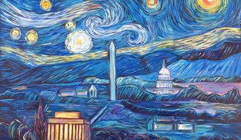 Van Gogh meets DC