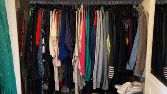 Wardrobe Organisation (After)