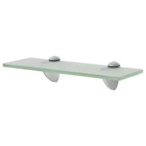 VidaXL Floating Shelf, 8 mm, Frosted, 30x10 cm