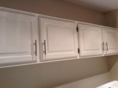 Paint oak cabinets white?