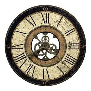 Howard Miller Brass Works Clock