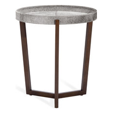 Ansley Tray Table - Natural Gray Walnut Large