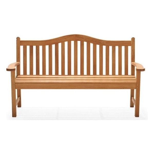 Terra Outdoor Teak Bench, 5'