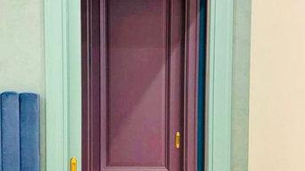 Три двери-пенал
