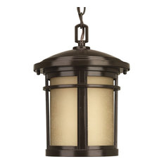 Progress Lighting 1-100W Medium Hanging Pendant, Antique Bronze