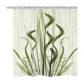 Whispering Green Garden Shower Curtain