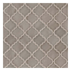 Dove Gray Arabesque 8Mm Ceramic Pattern Ceramic