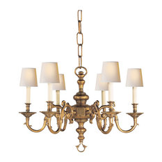 visual comfort visual comfort lighting ef chapman georgian 6 light chandelier chandeliers