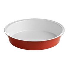 Ecocook Round Cake Tin, Red