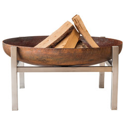 Rustic Fire Pits by Curonian Deco, LLC