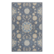 Rizzy Resonant RS912A 8'x10' Dark Gray, Blue Gray Rug