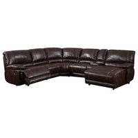 6-Piece Sectional Brown 940