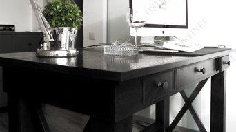 Письменный стол из дуба г.Москва