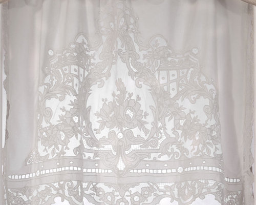 Collection coquecigrues ou l 39 esprit xviii me for Cantonniere shabby chic