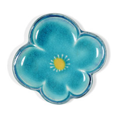 Blue Plum Small Square Plate