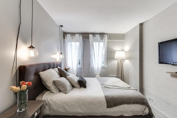 Vorher nachher ein schlafzimmer inspiriert von for Schlafzimmer renovieren