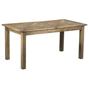 Carciofo Extendable Aged Elm Table