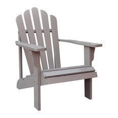 Westport Adirondack Chair, Taupe Gray   Adirondack Chairs