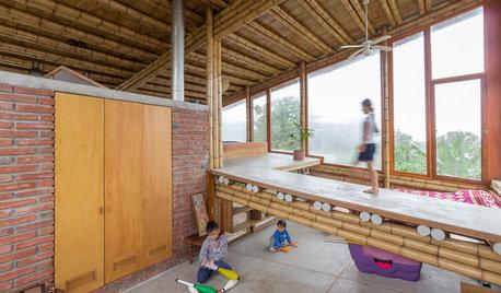 Arquitectura: Una cabaña que redefine el uso del espacio