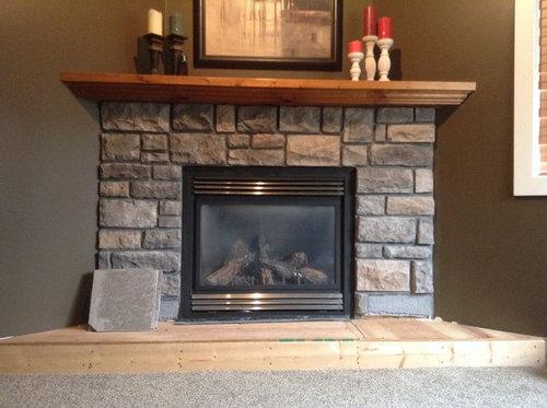 Finishing A Fireplace Hearth