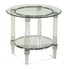 Cristal Round End Table