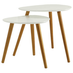 Midcentury Coffee Table Sets by Convenience Concepts