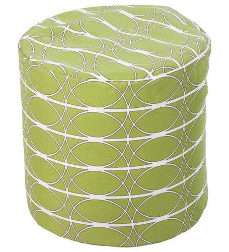 Surya Poufs- (POUF-107) - Decorative Pillows