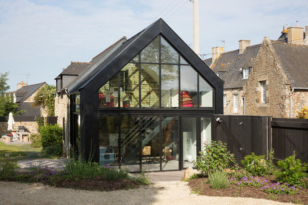 Architecture une extension en verre pour une maison de for Extension vitree maison